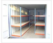 Document Storage - 150sq Document Storage Unit with shelves