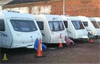 Caravan Storage at West Bromwich