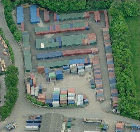 Birds Eye View Of U Can Store It At Aldridge Walsall